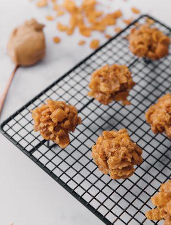 Grama's Corn Flake Peanut Butter Cookies