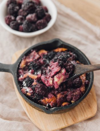 Kentucky Blackberry Cobbler