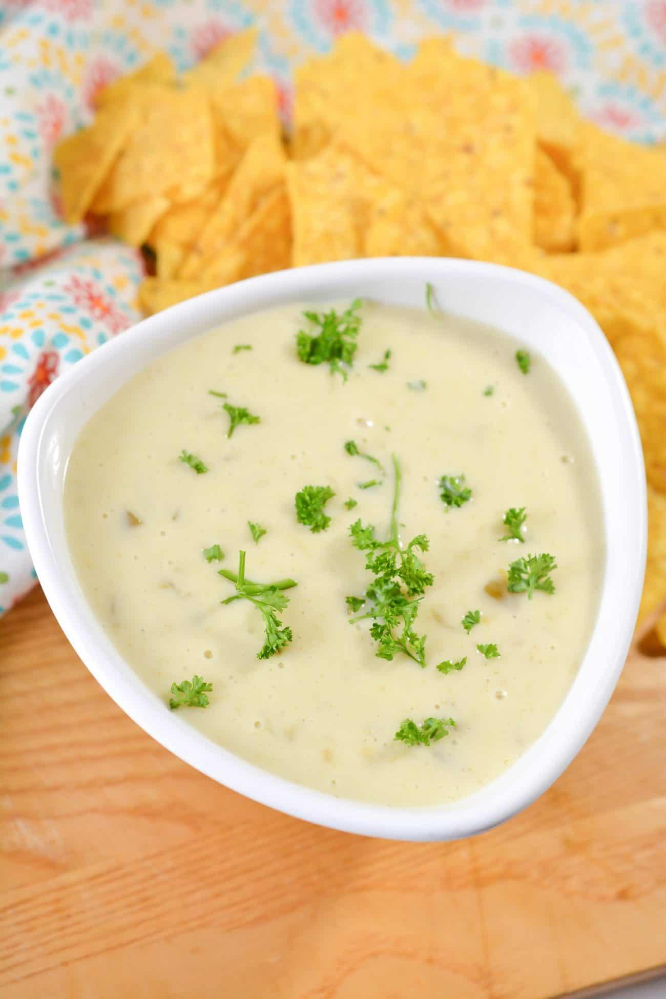 Mexican Restaurant Cheese Dip