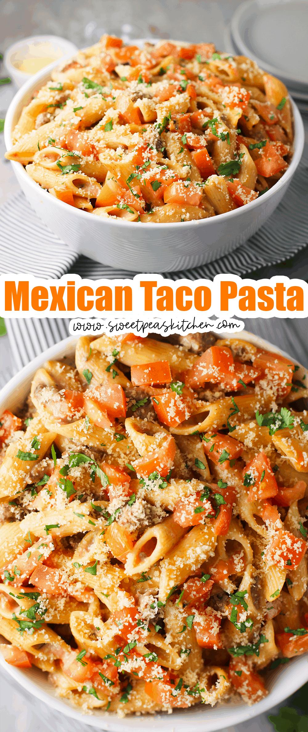 Mexican Taco Pasta