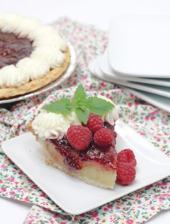 Old Fashioned Raspberry Chess Pie
