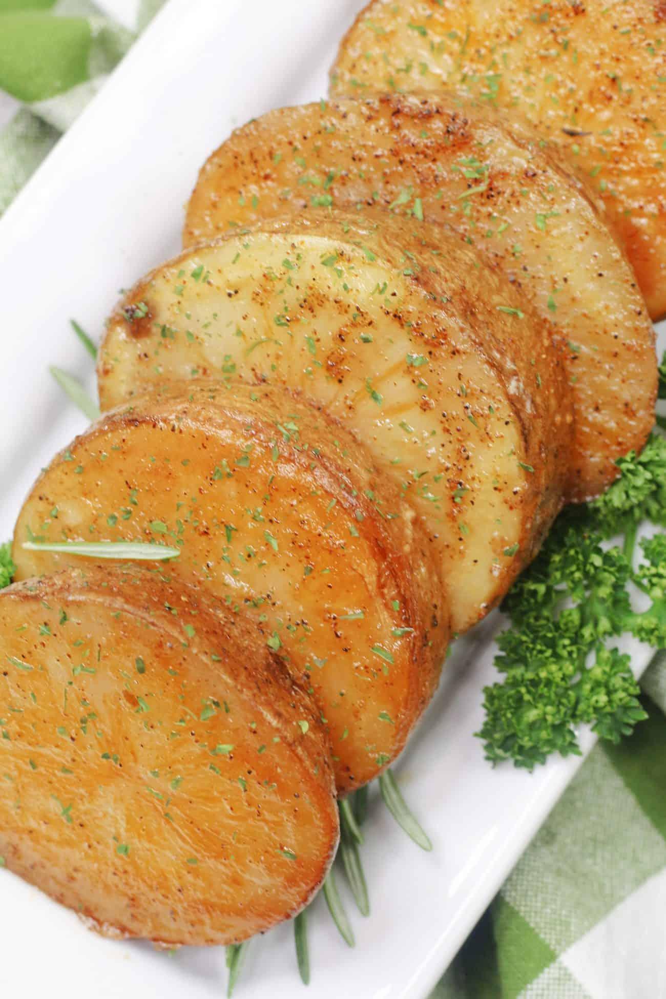 Oven Roasted Melting Potatoes