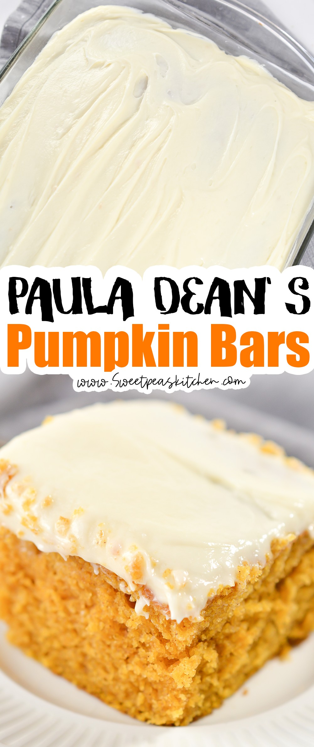 Paula Dean's Pumpkin Bars