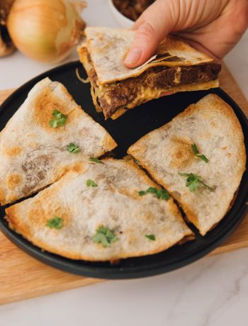 Steak Cheese Steak Quesadillas