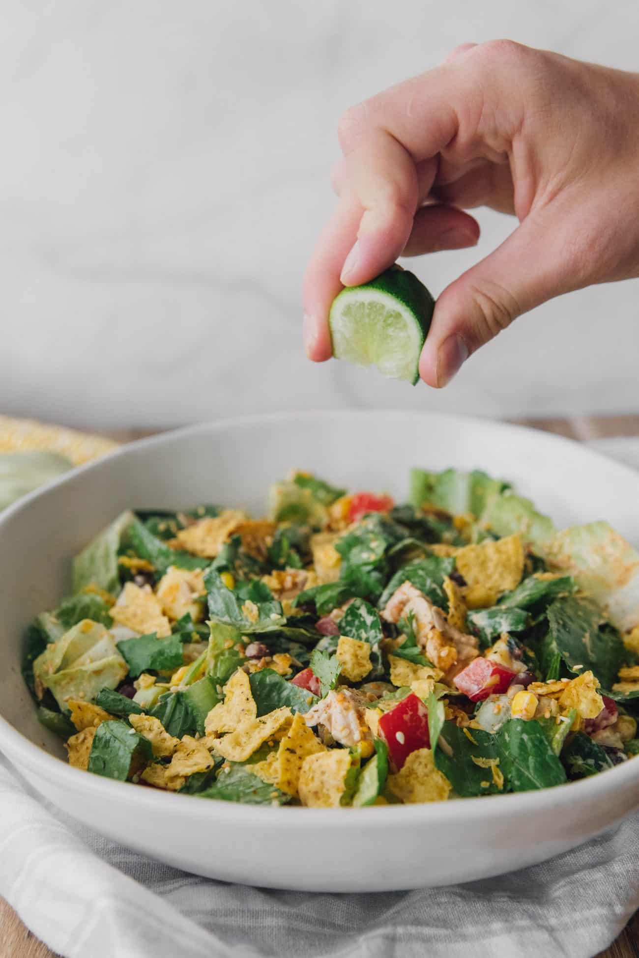 Tex-Mex Chopped Chicken Salad