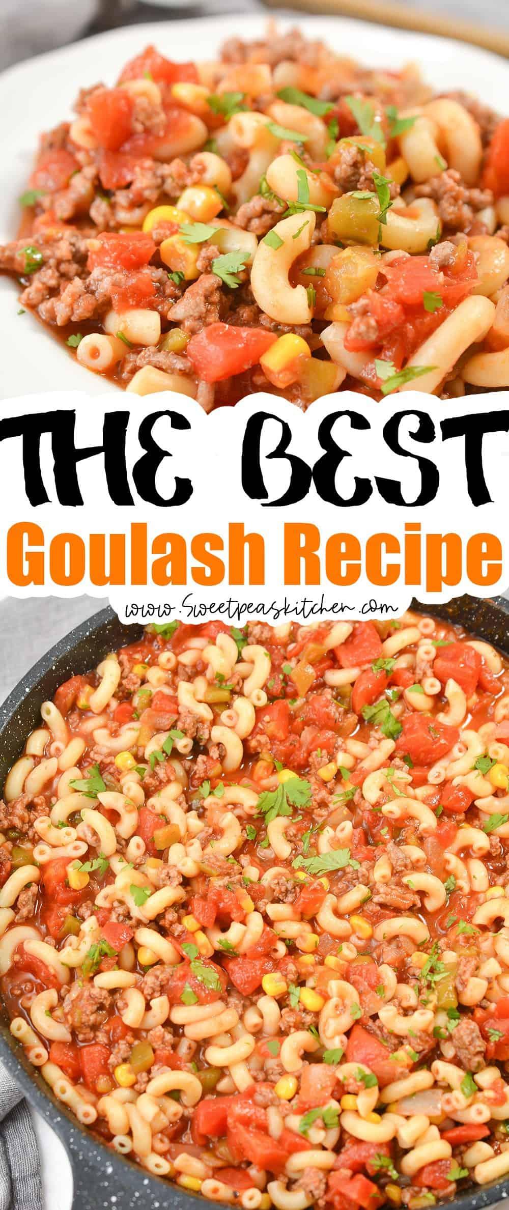 The Best Goulash Recipe