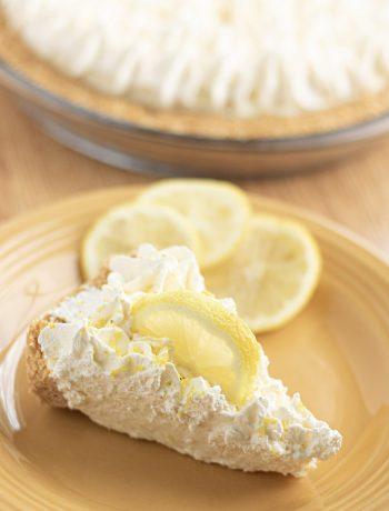Whole Lemon Lemonade Freezer Pie
