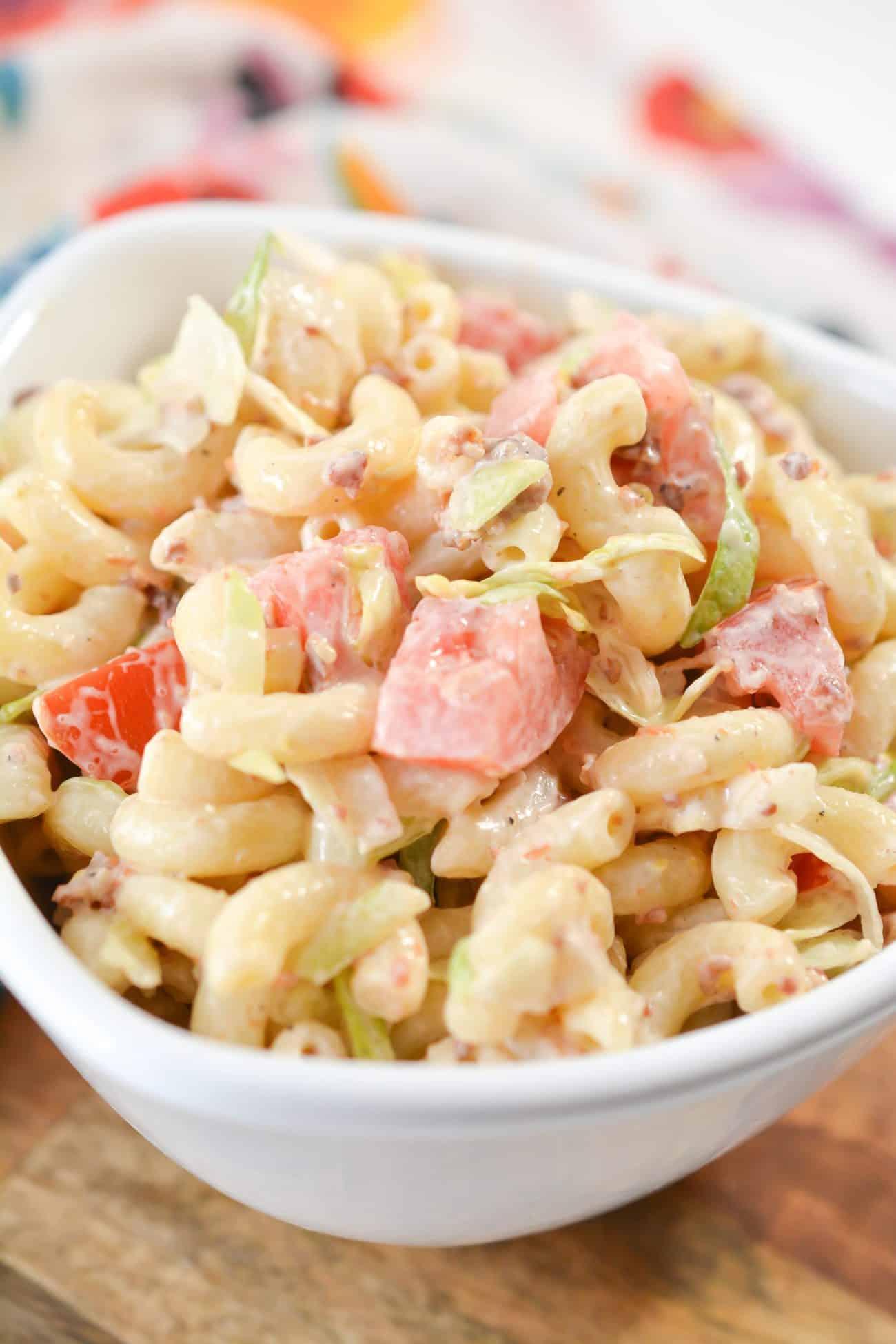 Tried and True BLT Pasta Salad