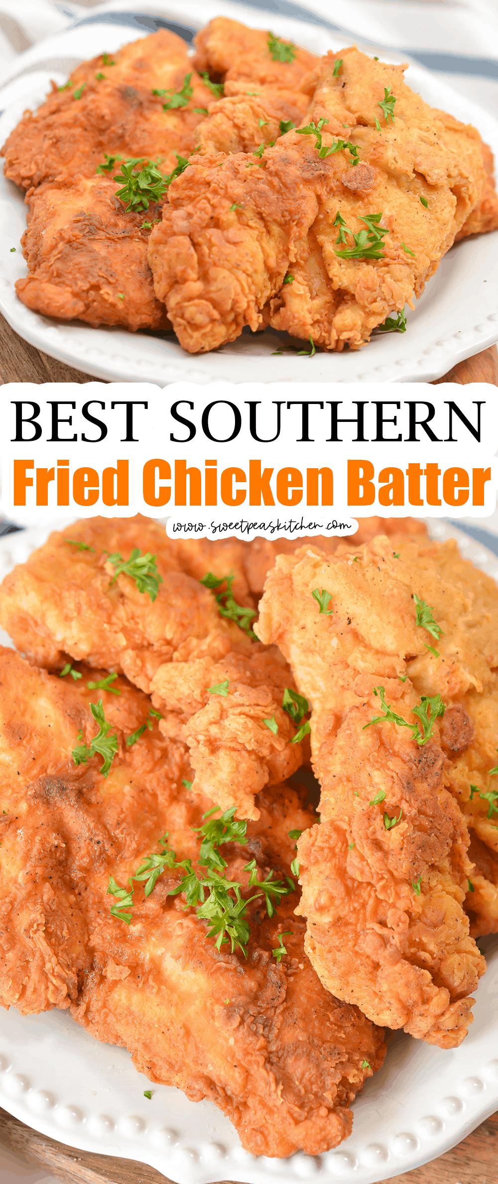 Best Southern Fried Chicken Batter
