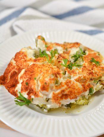 Cauliflower and Broccoli Casserole