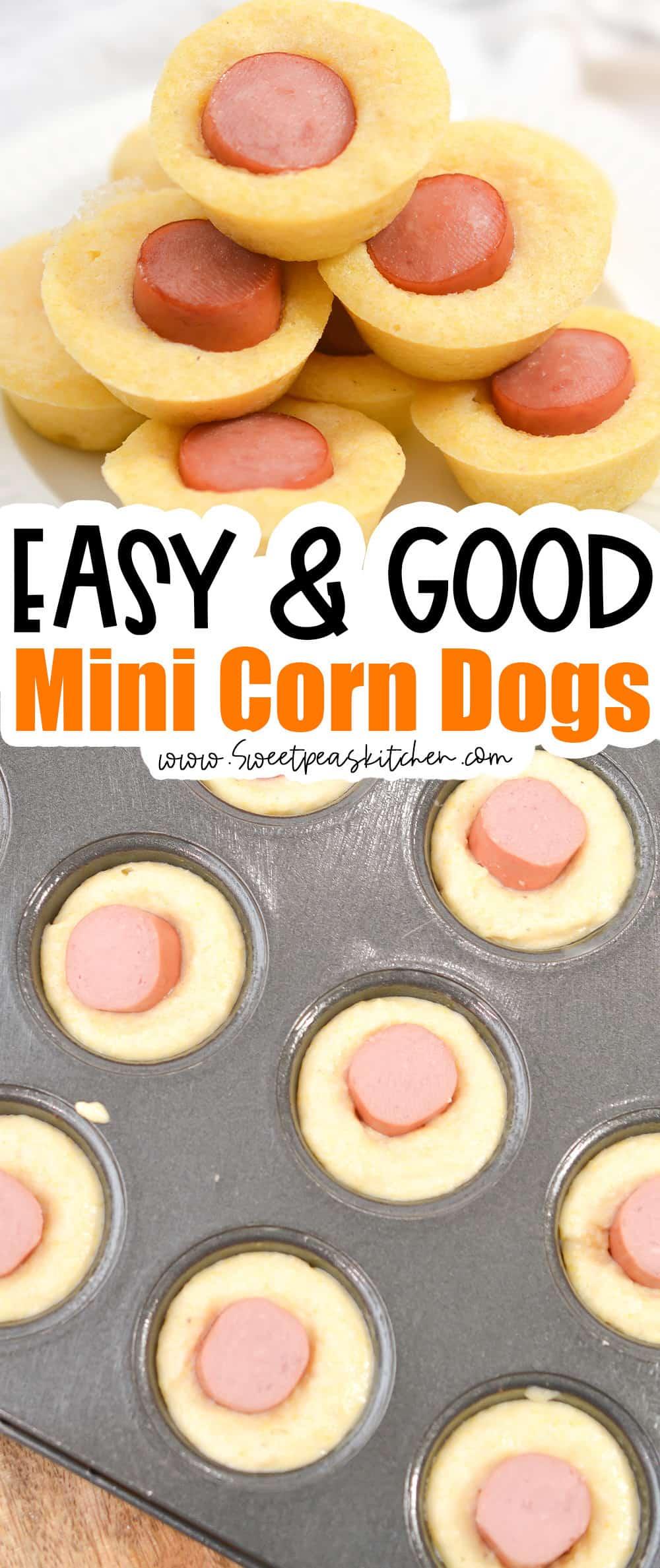 Mini Corn Dogs Easy Recipe