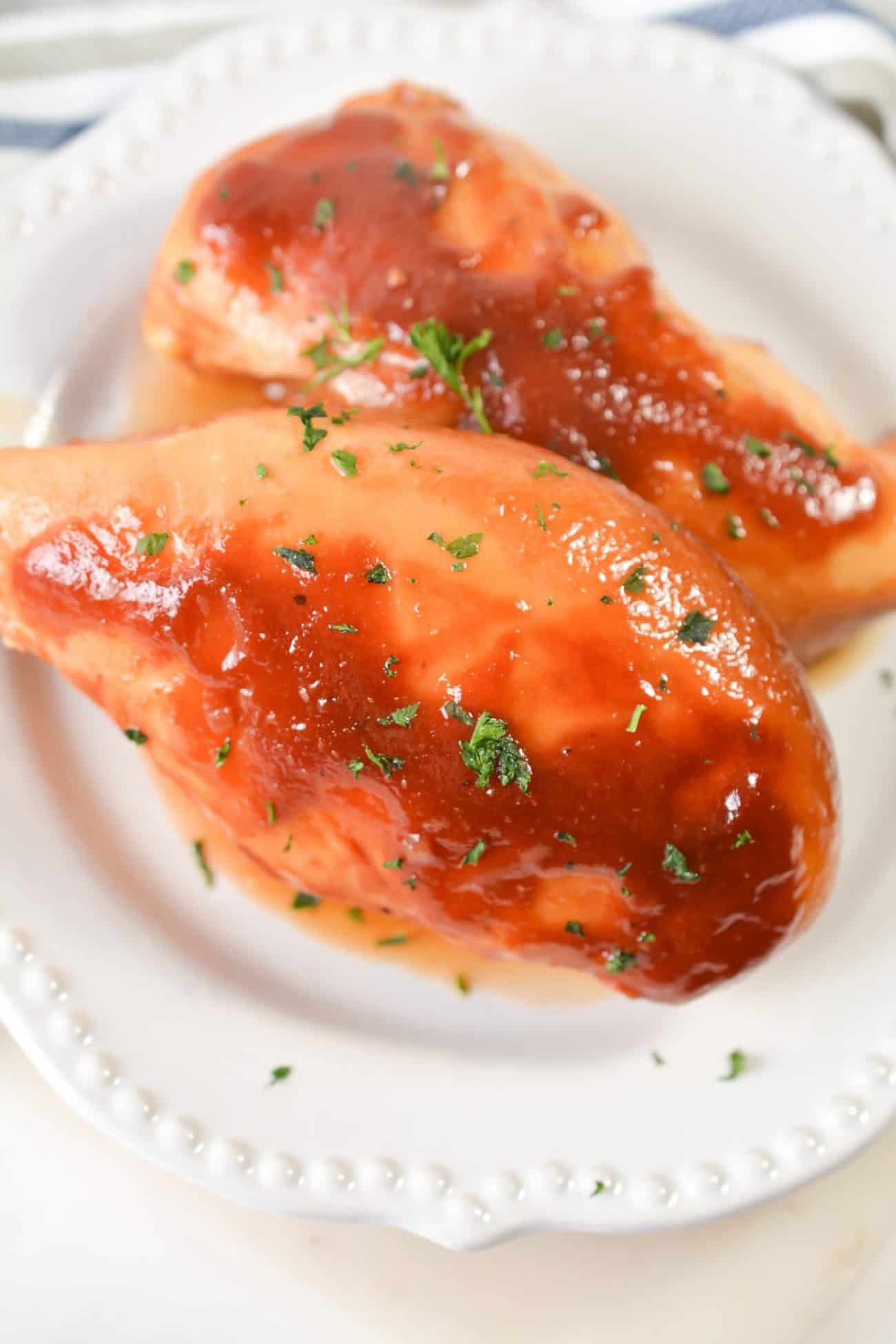 Sweet Baby Ray's Slow Cooker Chicken
