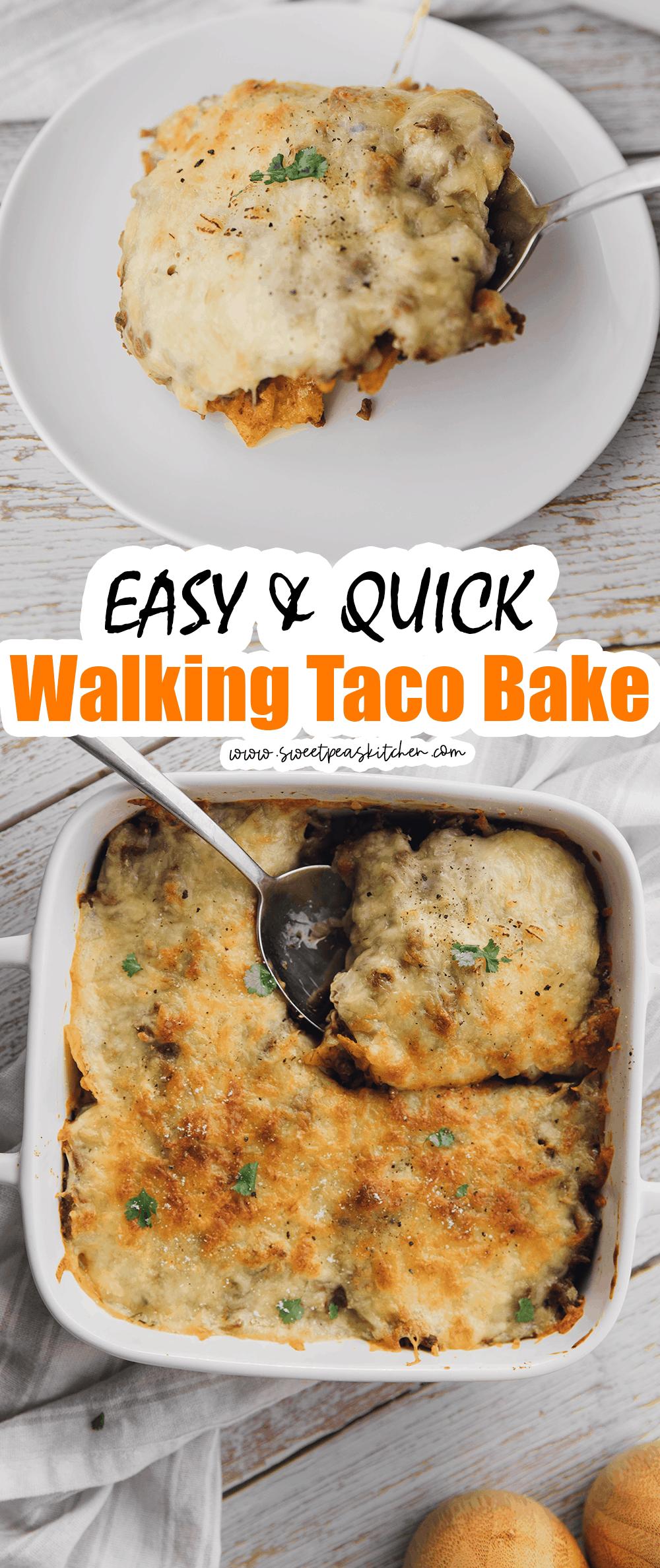 Walking Taco Bake