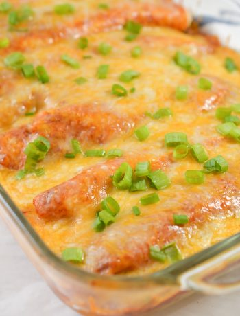 Baked Beef and Bean Enchiladas