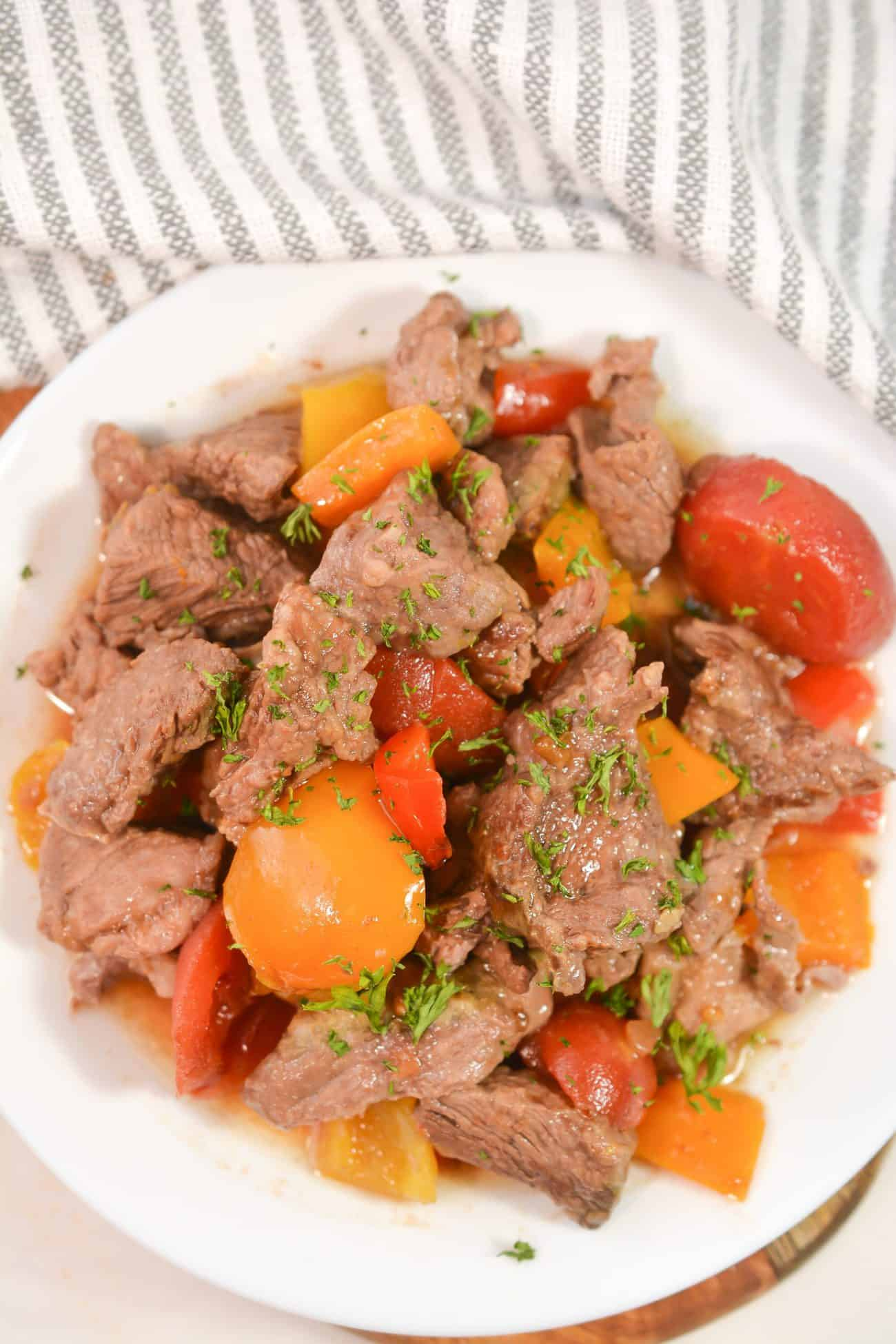 Best Ever Pepper Steak