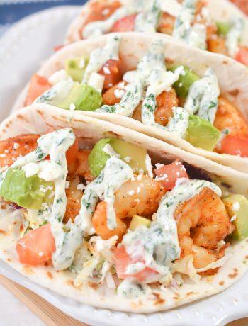 Best Ever Shrimp Tacos