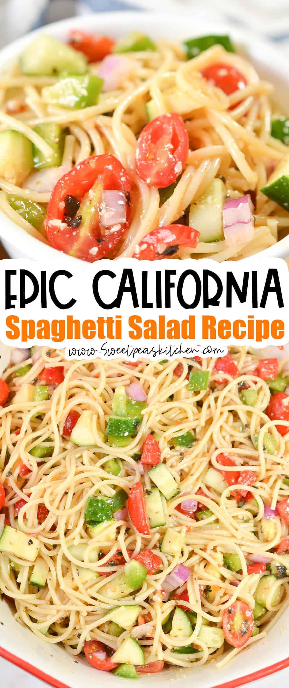California Spaghetti Salad