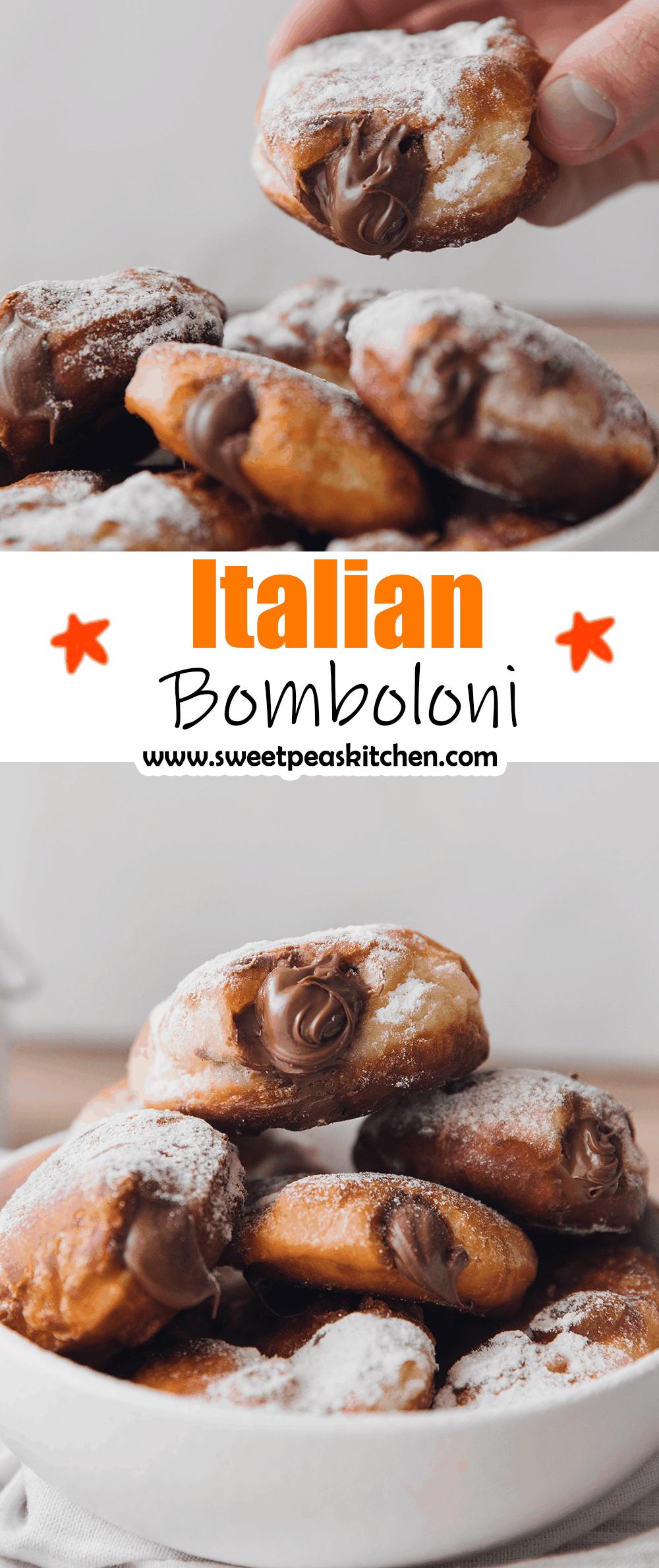 Italian Bomboloni
