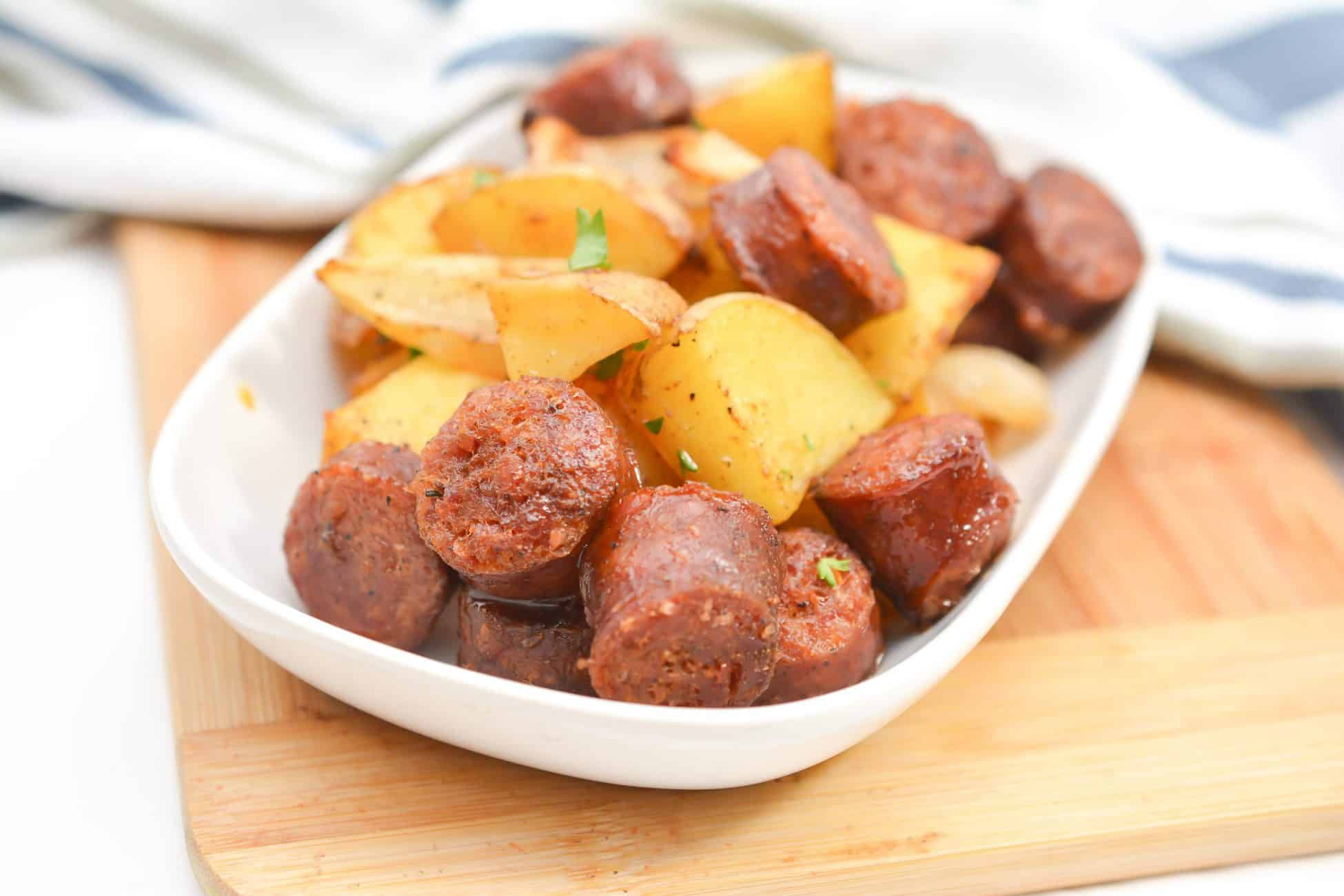 Oven Roasted Sausage and Potatoes