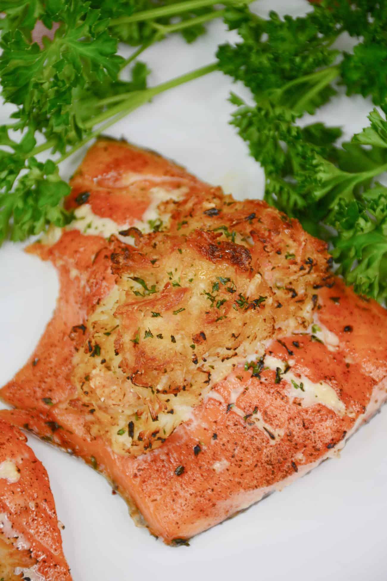 Stuffed Salmon