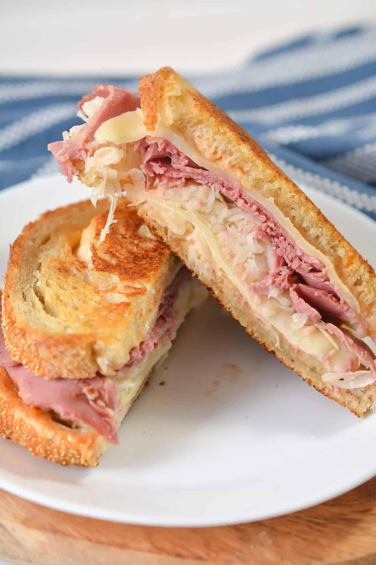 Better Than the Deli Reuben Sandwiches