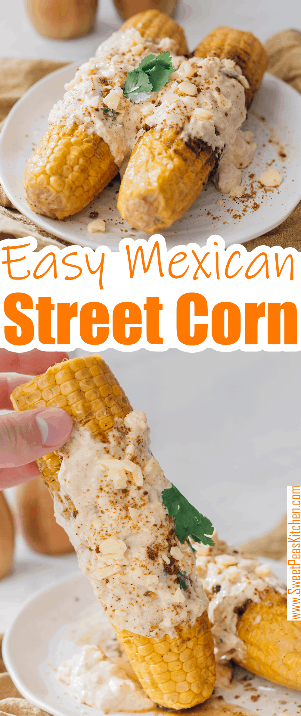 Easy Mexican Street Corn