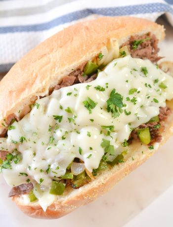 Homemade Cheesesteak Subs