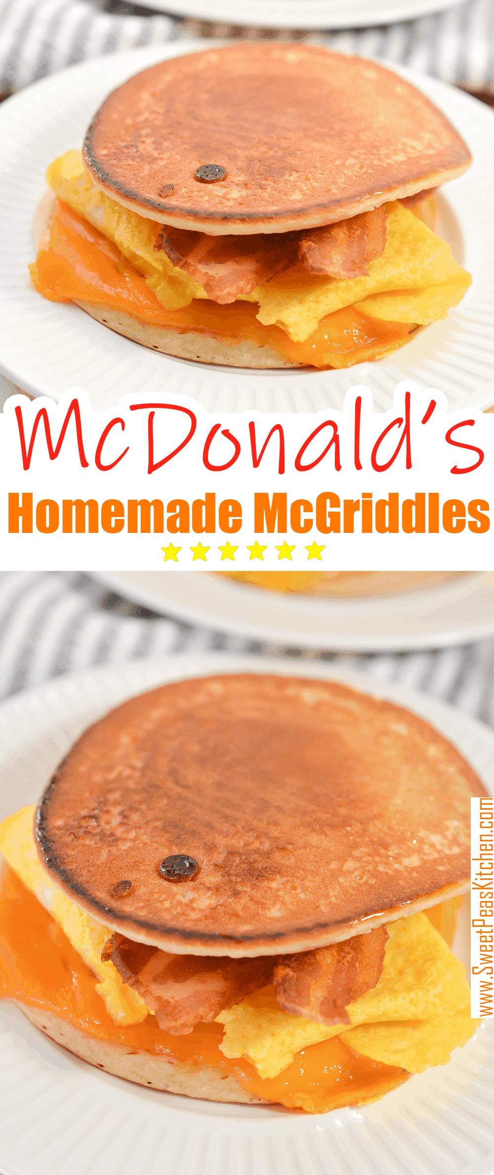 Homemade McDonald's McGriddles