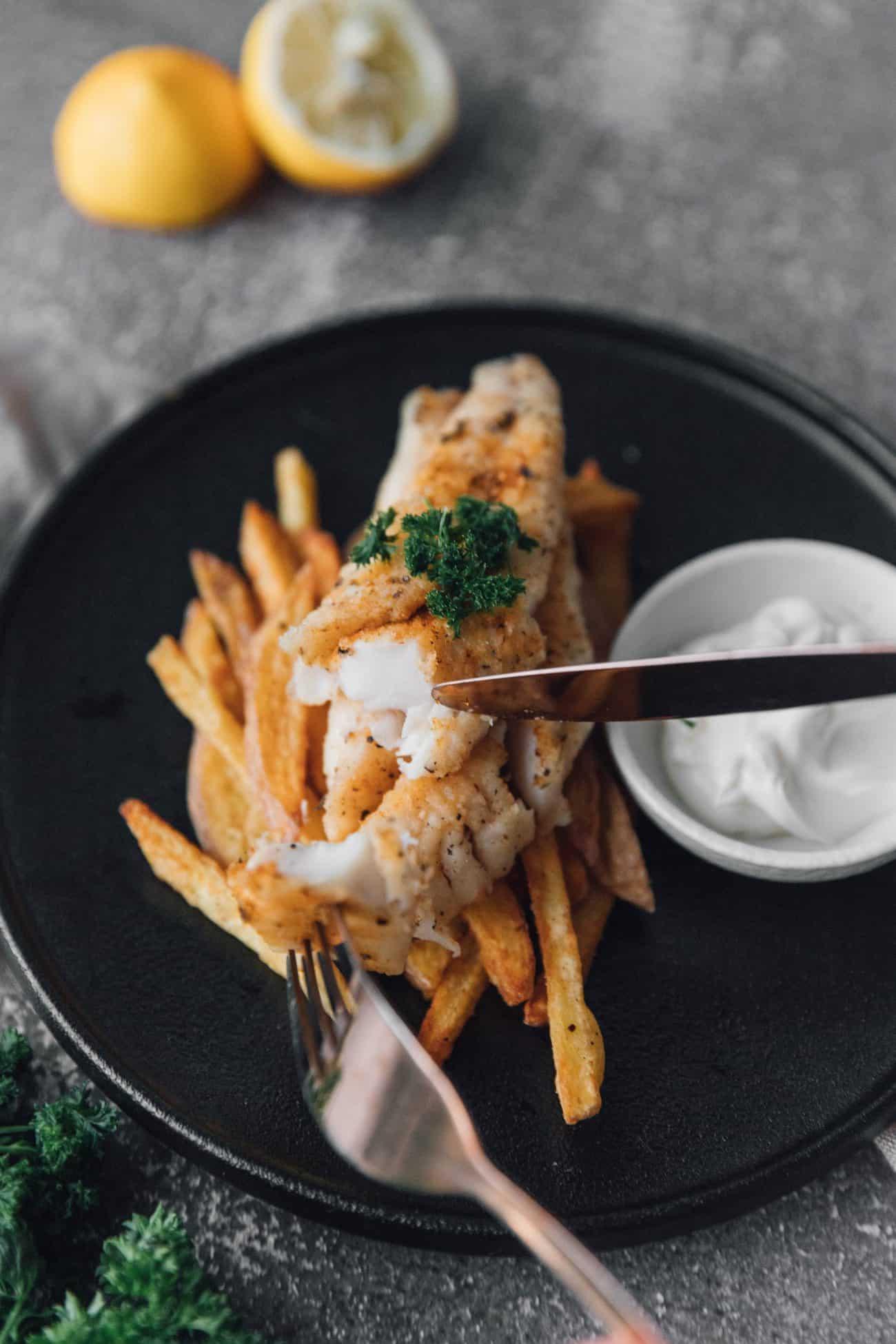 Lemon Pepper Fried Fish