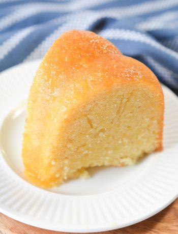 Peachy Keen Pound Cake