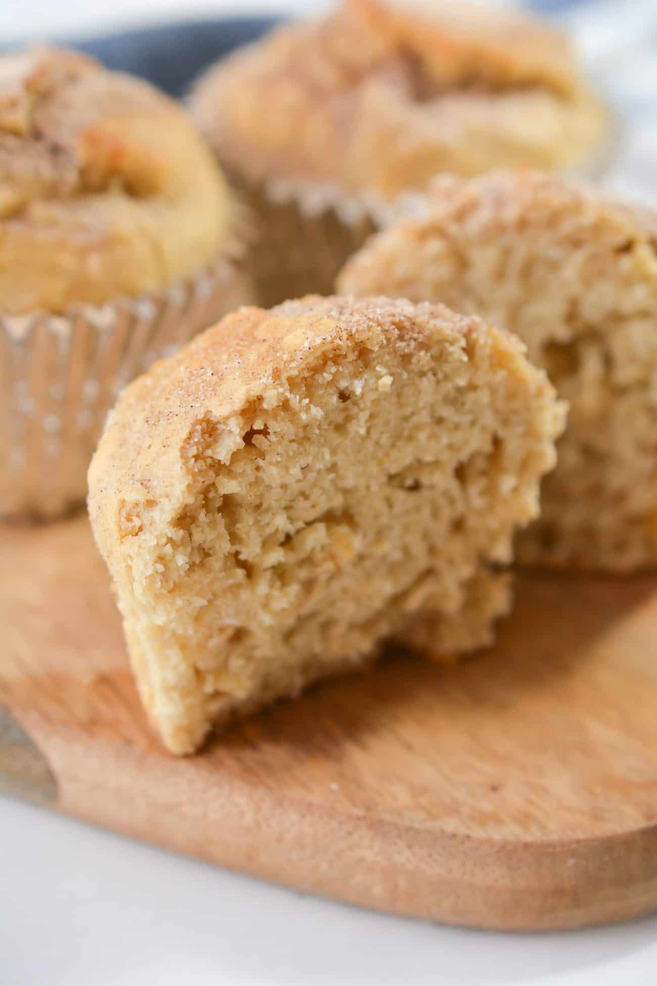 30 Minute Snickerdoodle Muffins