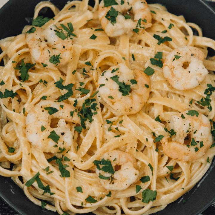 Classic Shrimp Alfredo