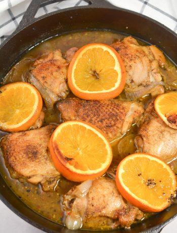 Orange Cumin Roast Chicken
