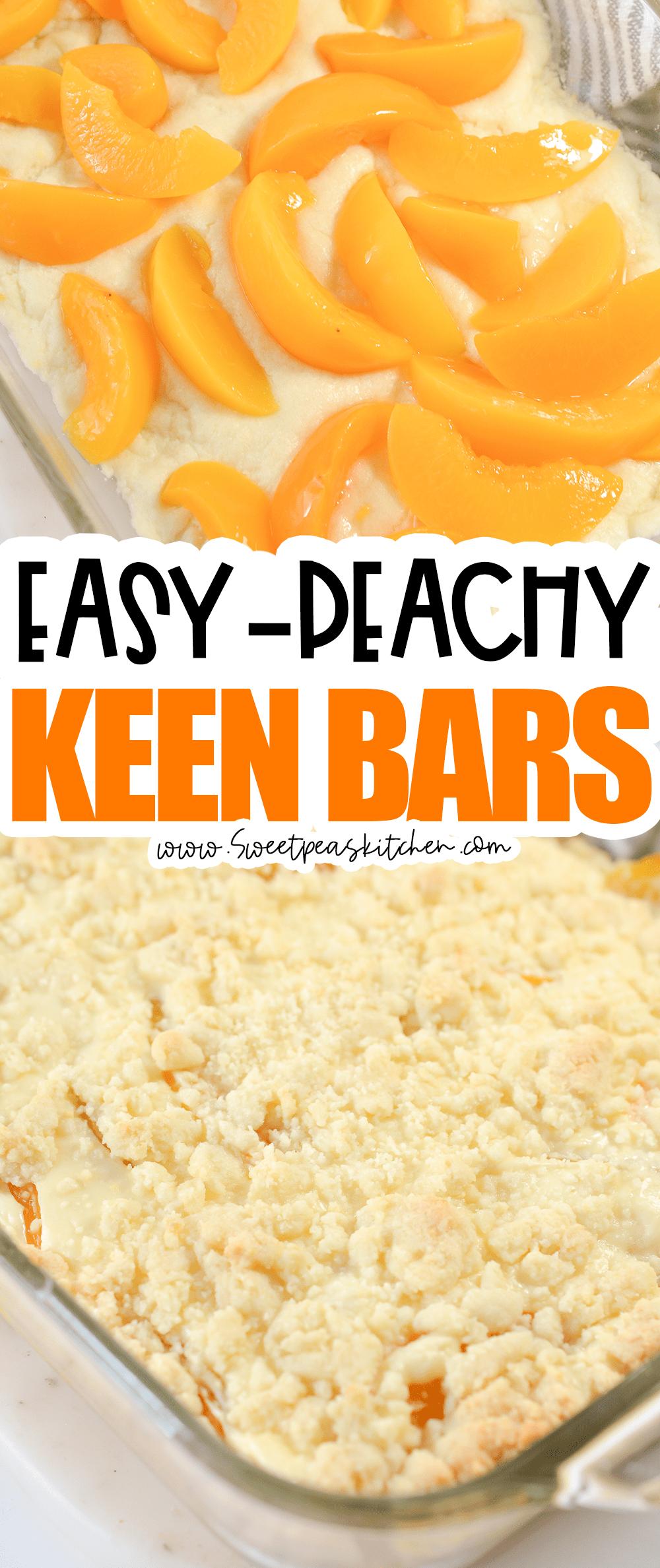 Peachy Keen Bars