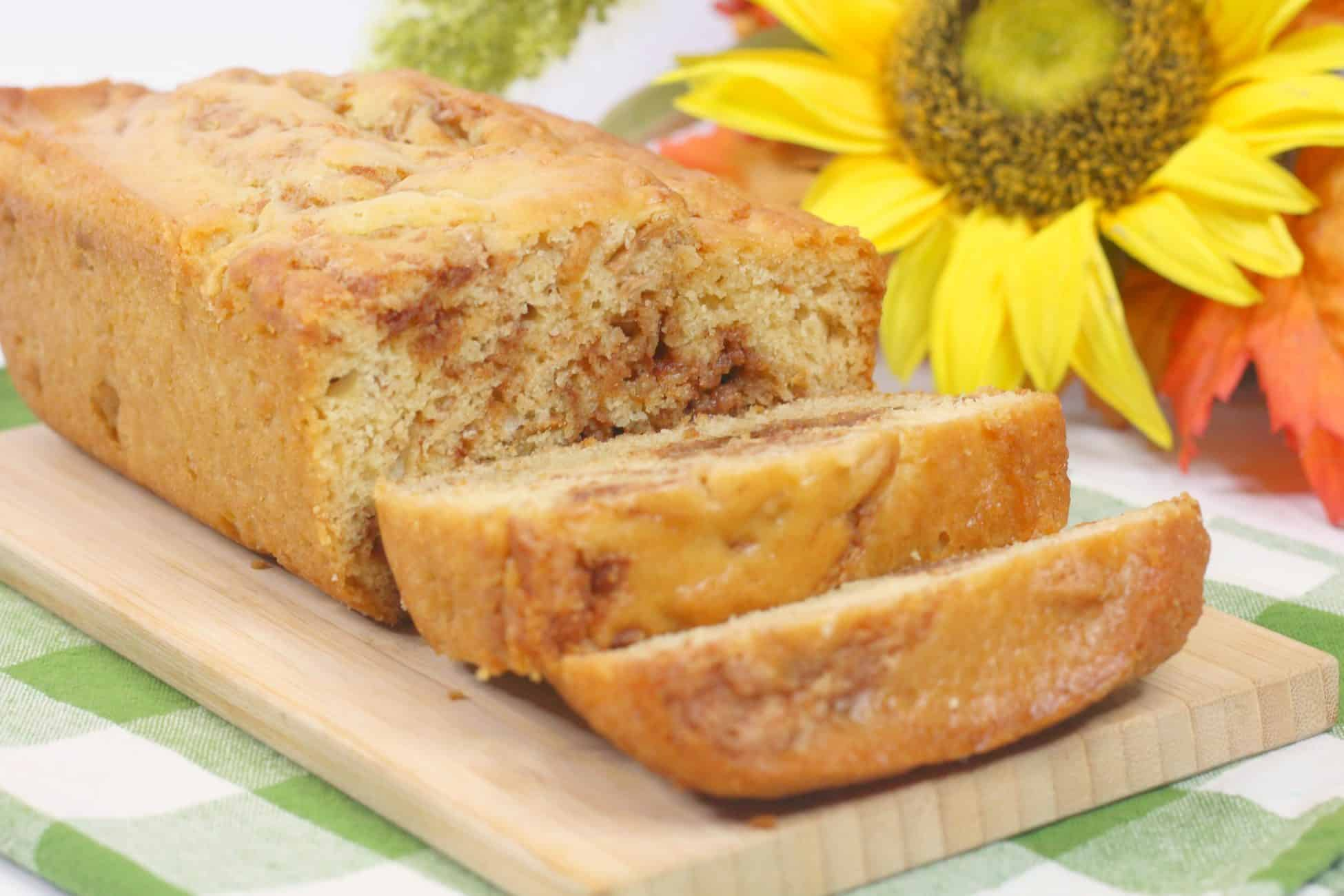 Apple Spice Fritter Bread