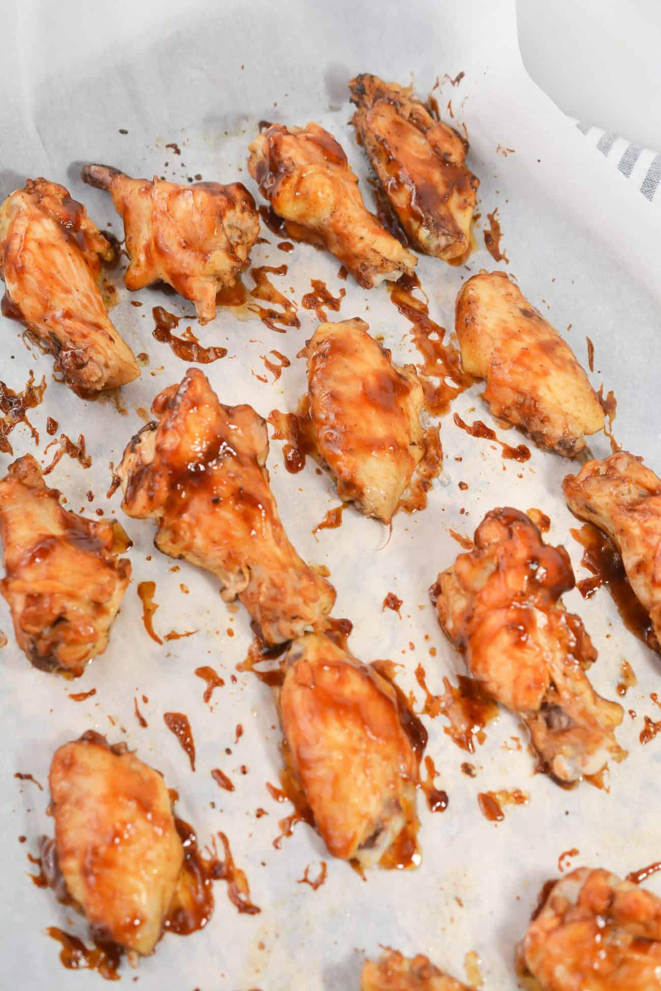 3 Ingredient Crockpot BBQ Wings