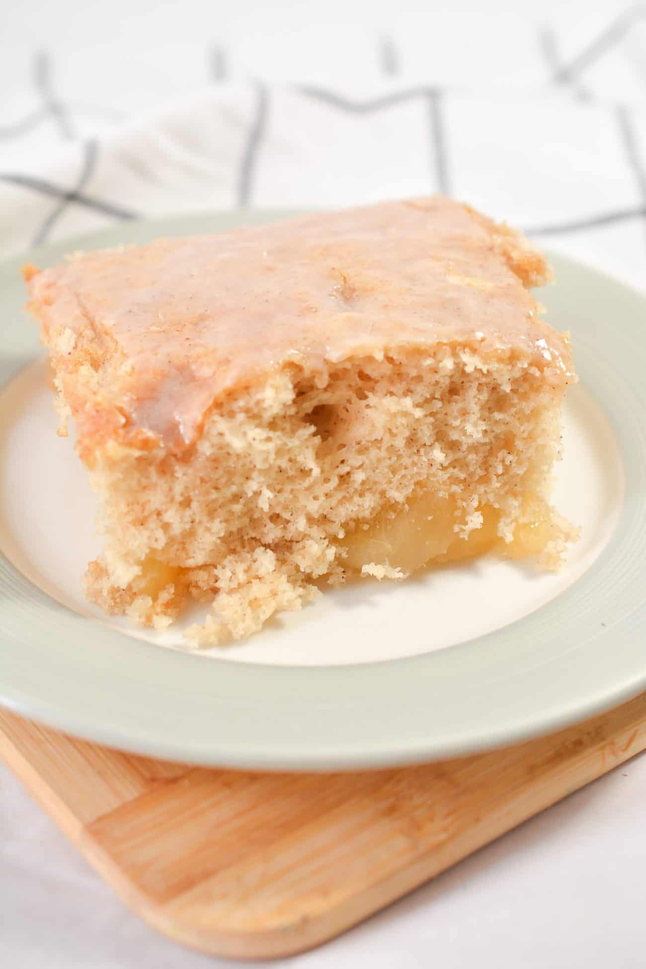 Apple Pie Filled Coffee Cake
