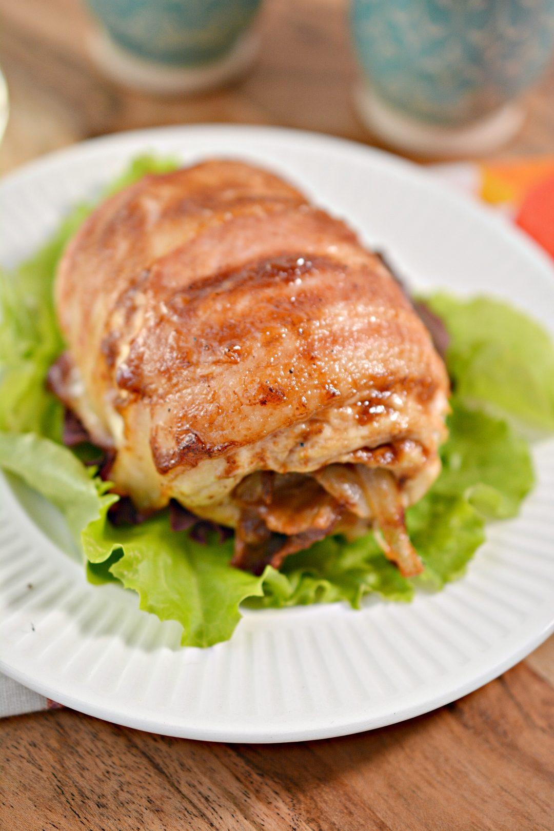 BBQ Bacon Stuffed Chicken