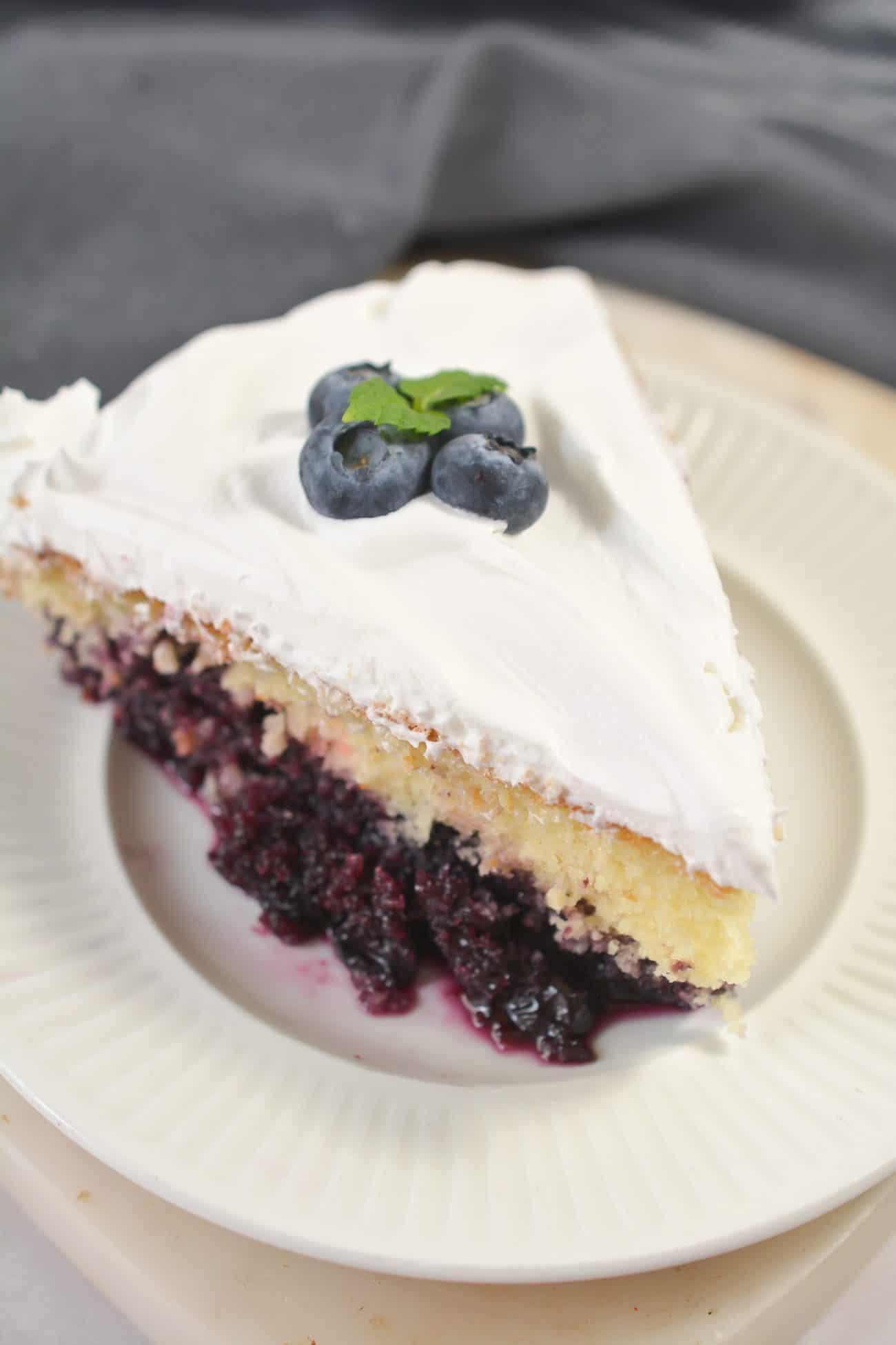 Blueberry Bottom Cake