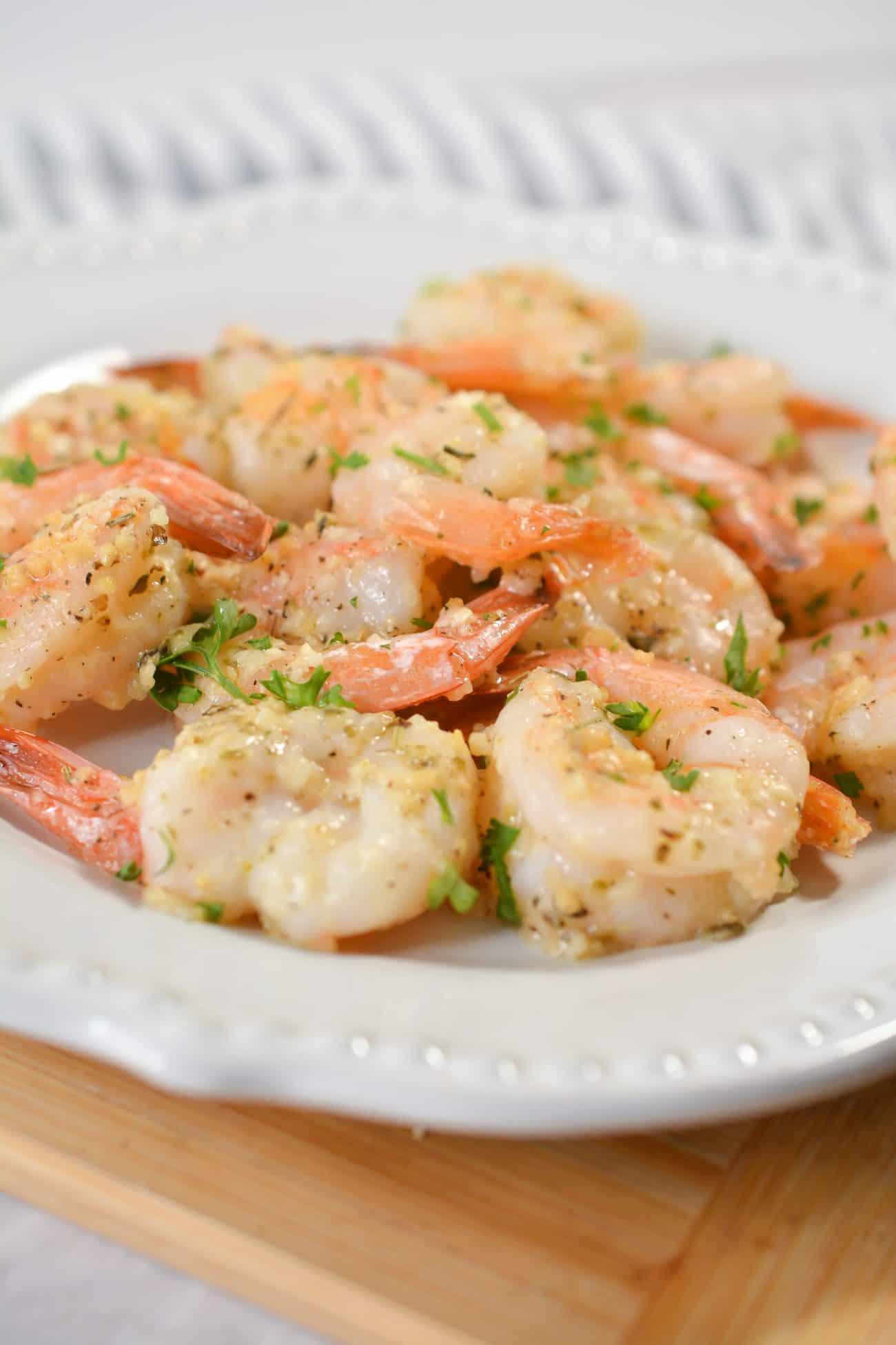Garlic Parmesan Roasted Shrimp