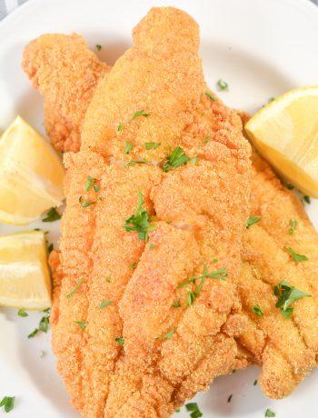Golden Fried Catfish