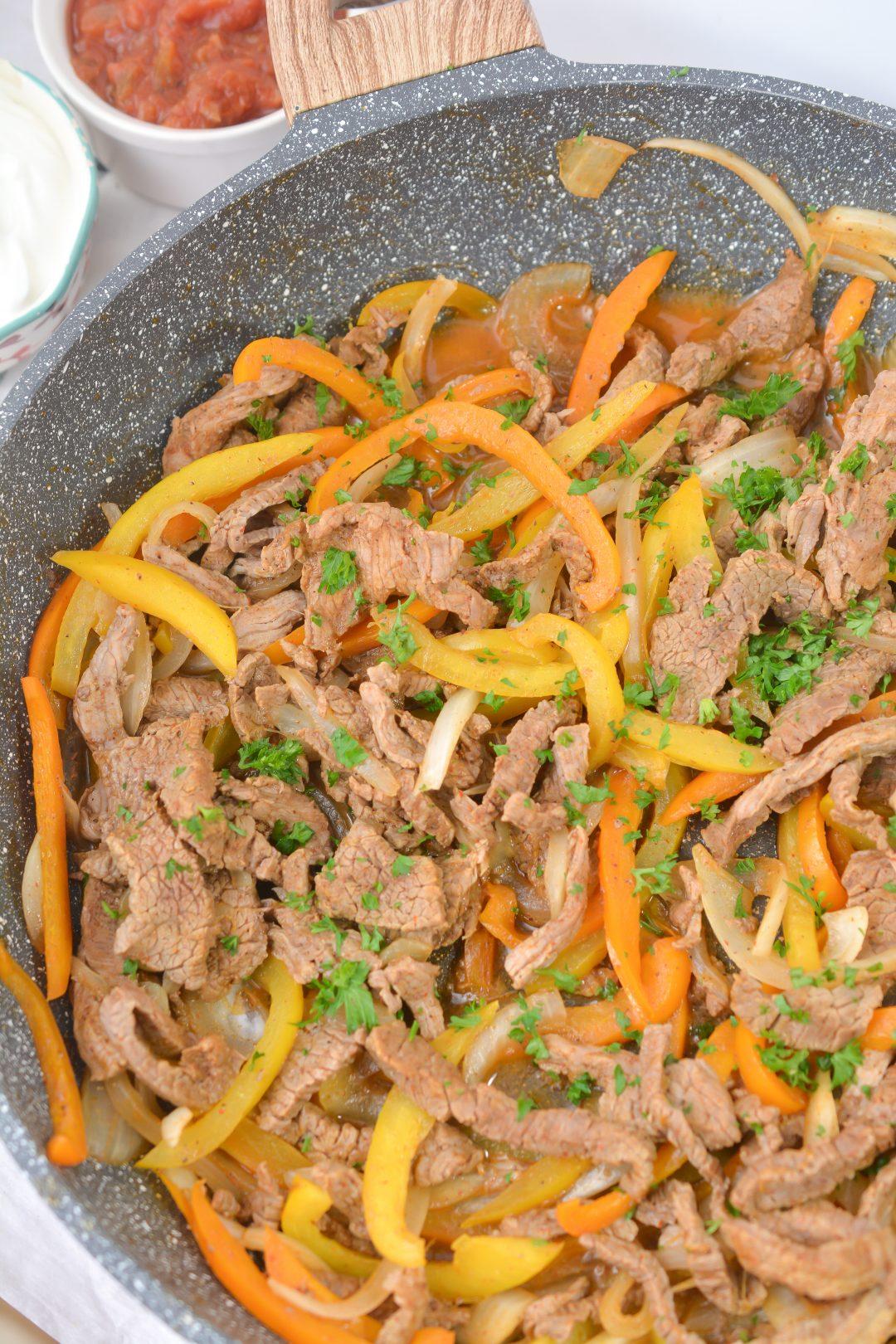 The BEST Steak Fajitas Recipe (3)