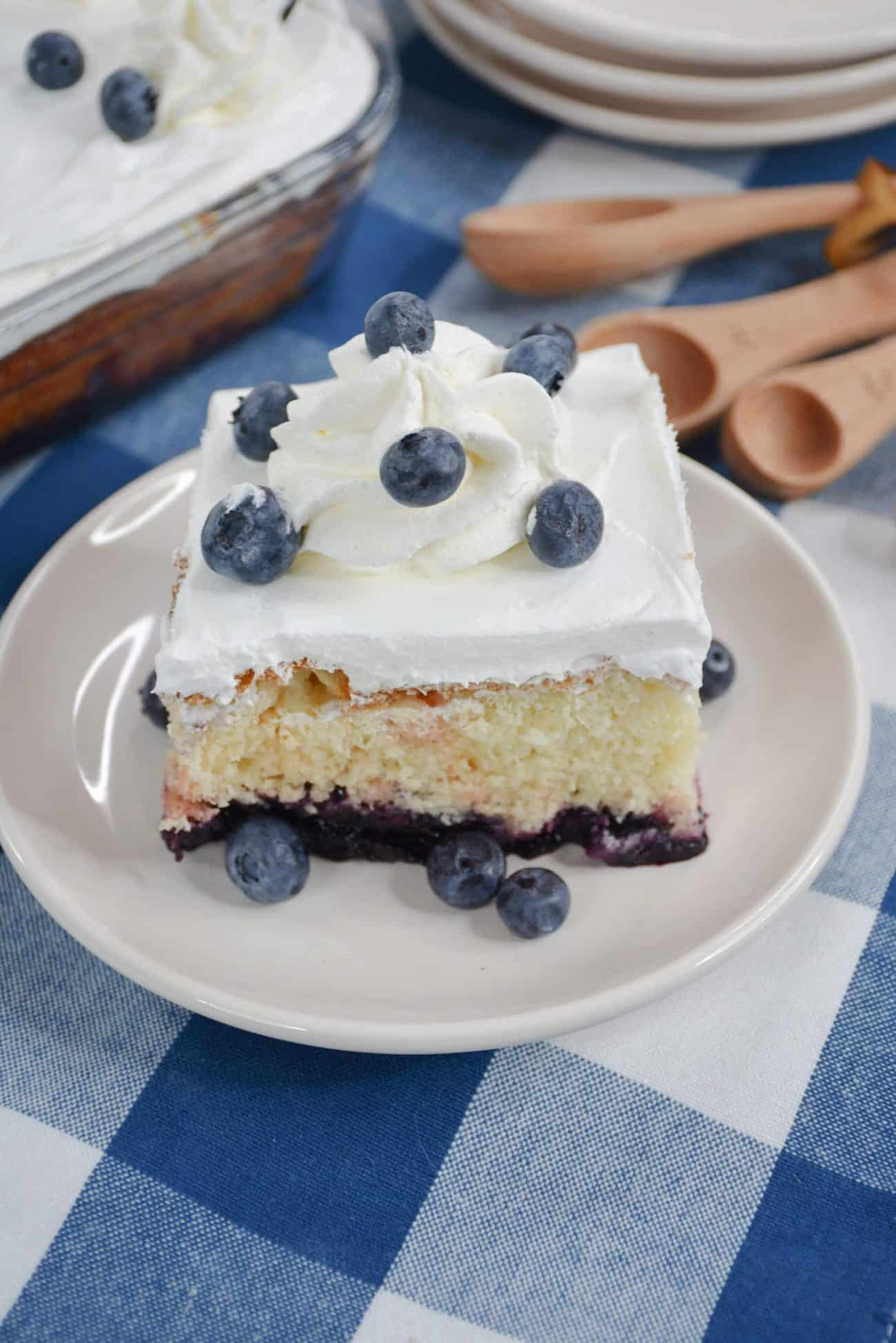 Simple Blueberry Cake Recipe