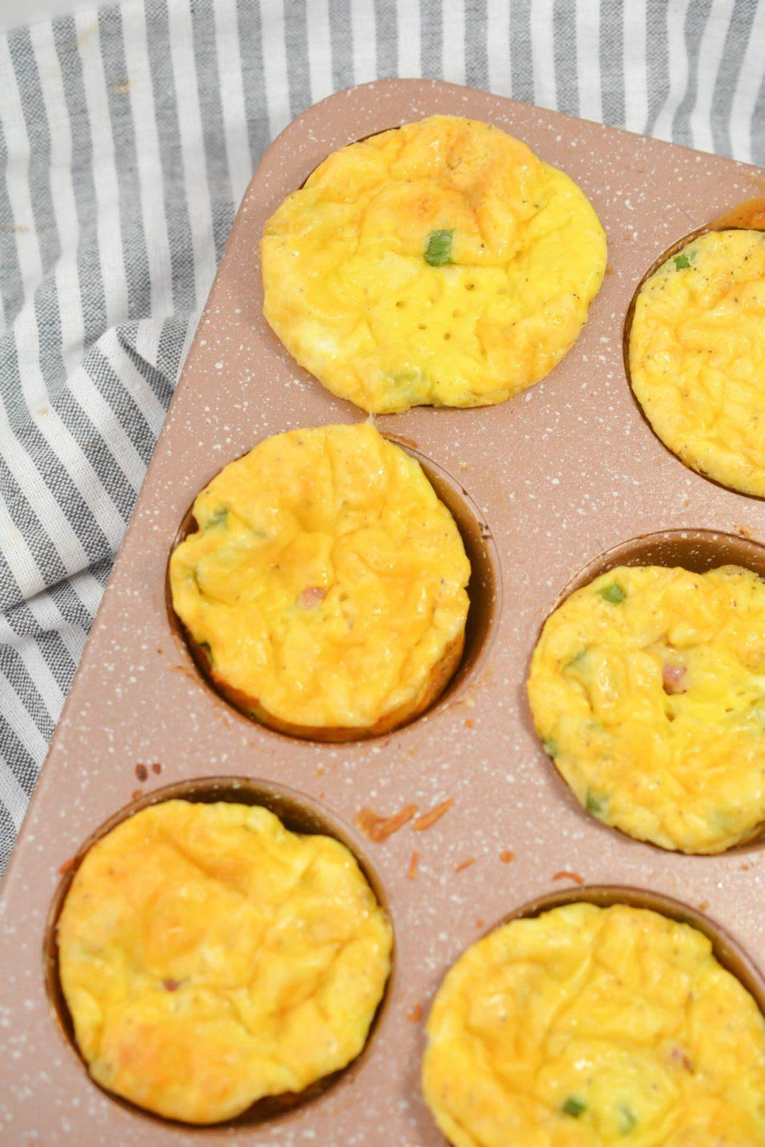step 9 bake in a muffin tin